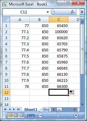 Excel 2007 Multiplicationbug