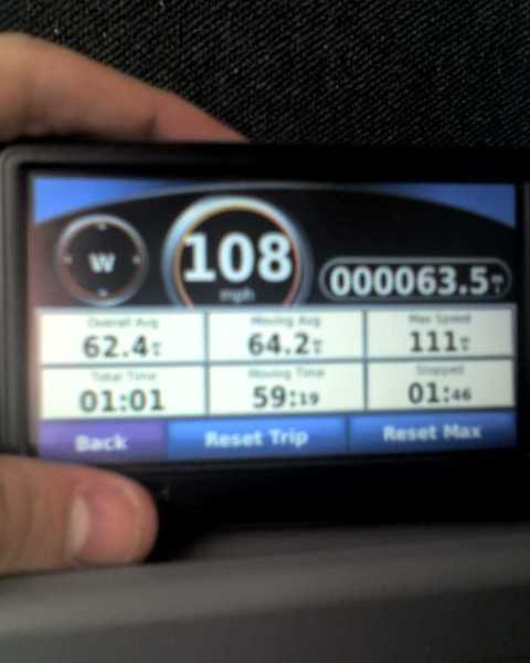 108 mph on Amtrak Keystone