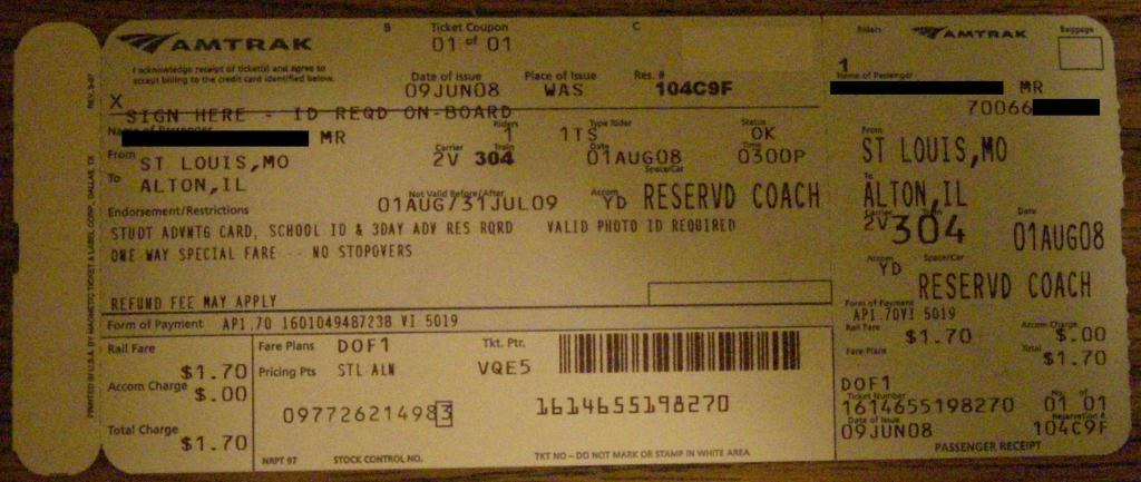 Here s a photo of an actual ticket to prove that it s real